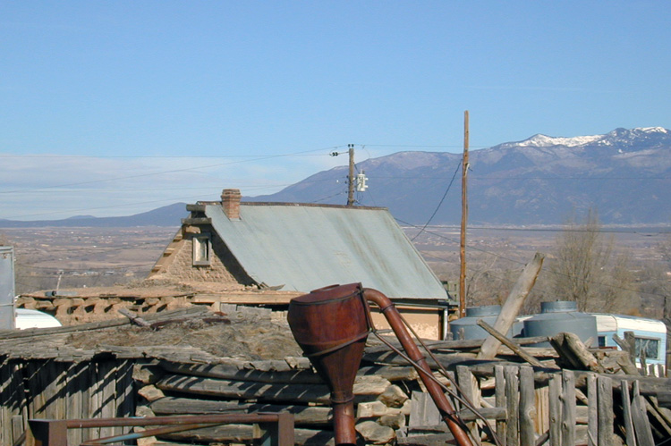 An old corral in Llano Quemado, NM in 2004.