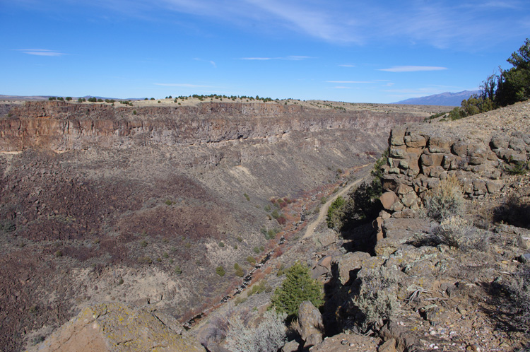 Rio Pueblo near the Rio Grande