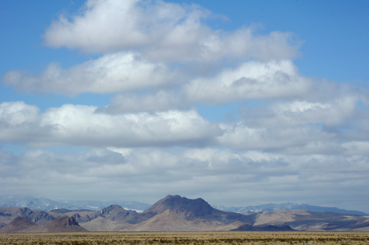 Shot from a speeding car south of Socorro