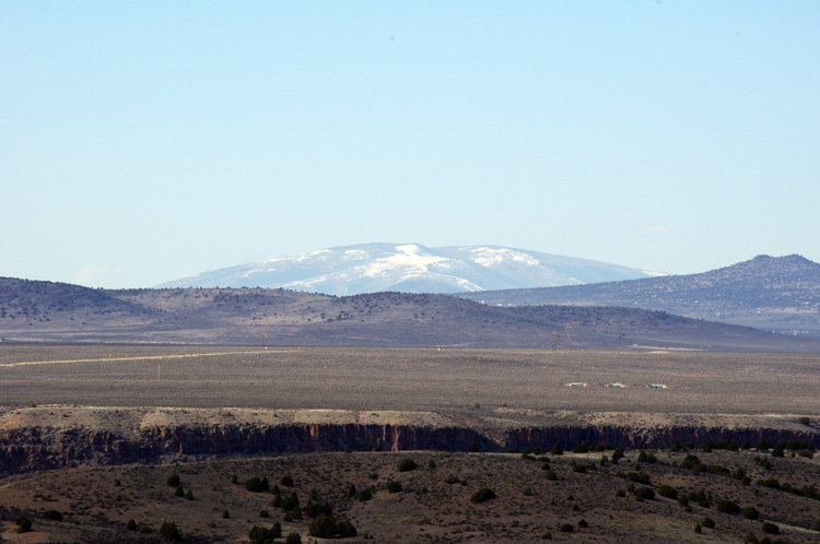San Antonio Mountain near Taos, NM
