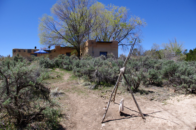 Ant Torture Art Device in Taos, New Mexico