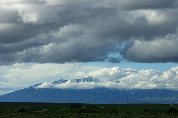 Mt. Blanca Massif in southern Colorado
