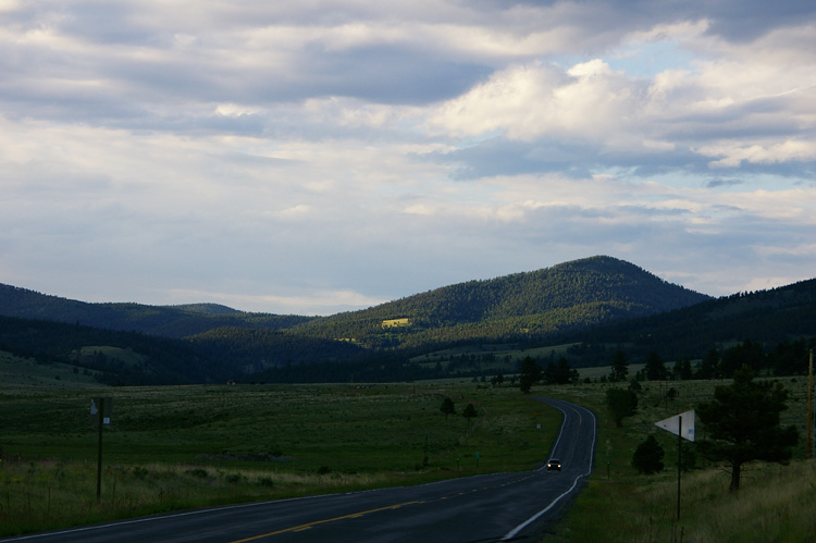 Just a tiny portion of Moreno Valley in Colfax County, NM