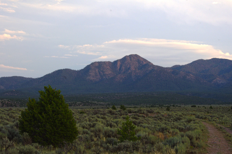 Picuris Peak south of Taos, New Mexico