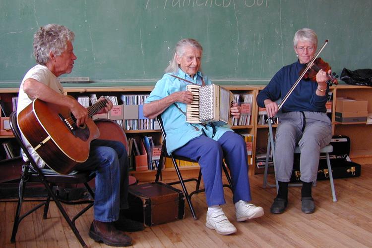 Jenny Vincent Trio in San Cristobal, New Mexico in September, 2000